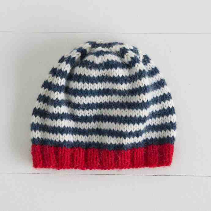 Comment tricoter un bonnet homme facile?