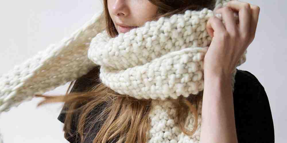Comment tricoter un drap de laine?