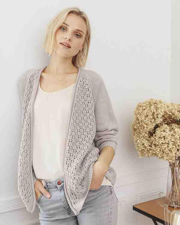 Comment tricoter un pull femme en une seule pièce?