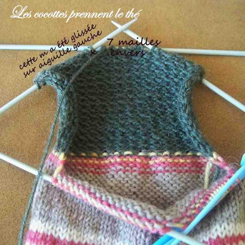 Comment utiliser les aiguilles à tricoter circulaires?