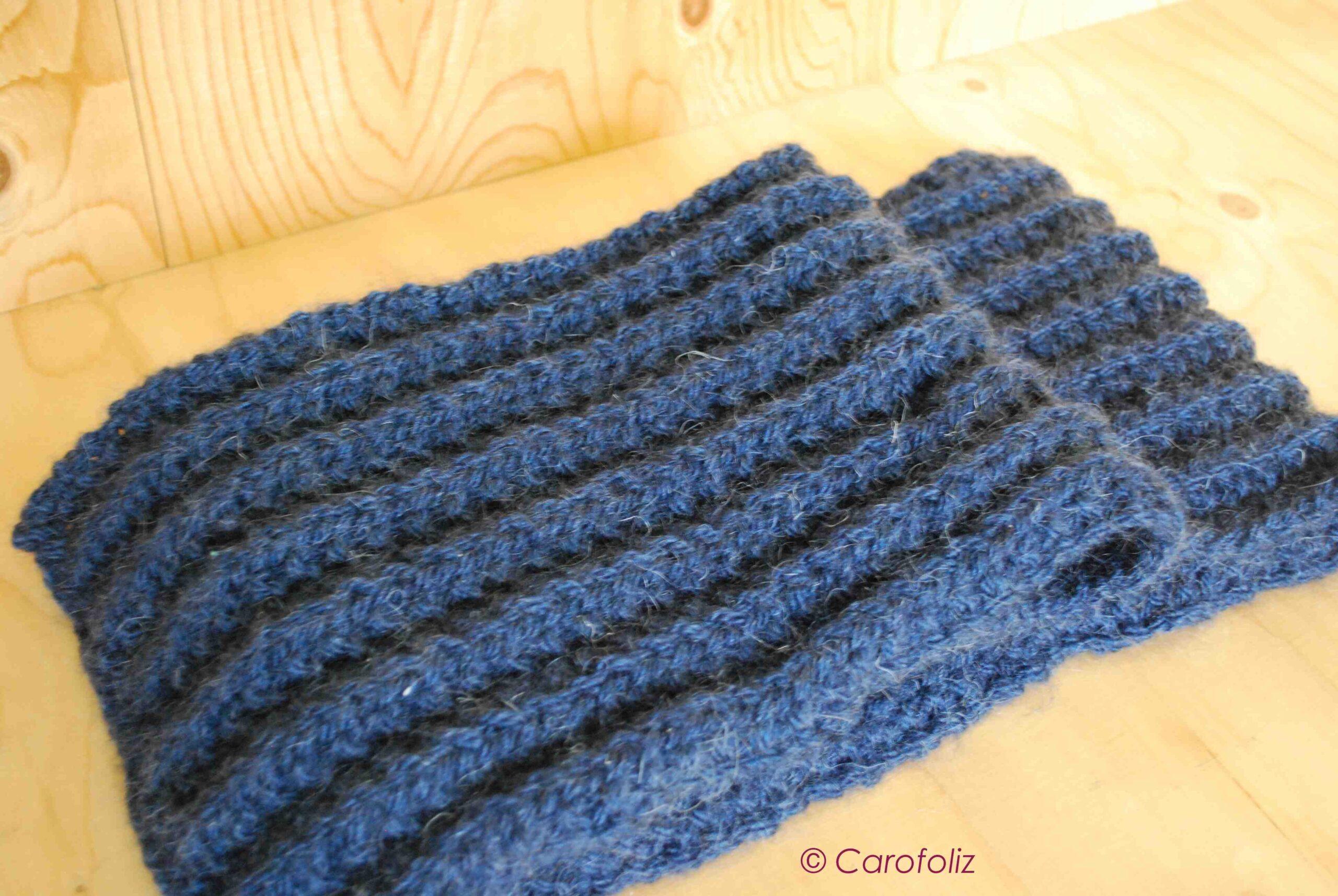 Est-il facile de porter une écharpe en laine?