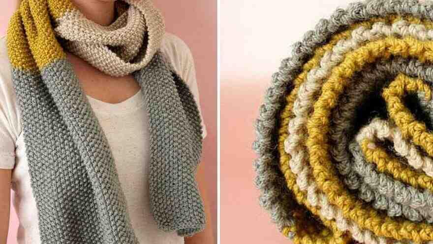 Pourquoi tricoter une écharpe pour homme?