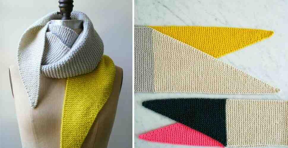 Quel est l'intérêt de tricoter une écharpe pour femme?