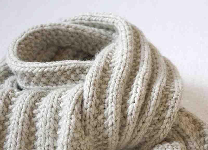 Quelle laine fait une écharpe?