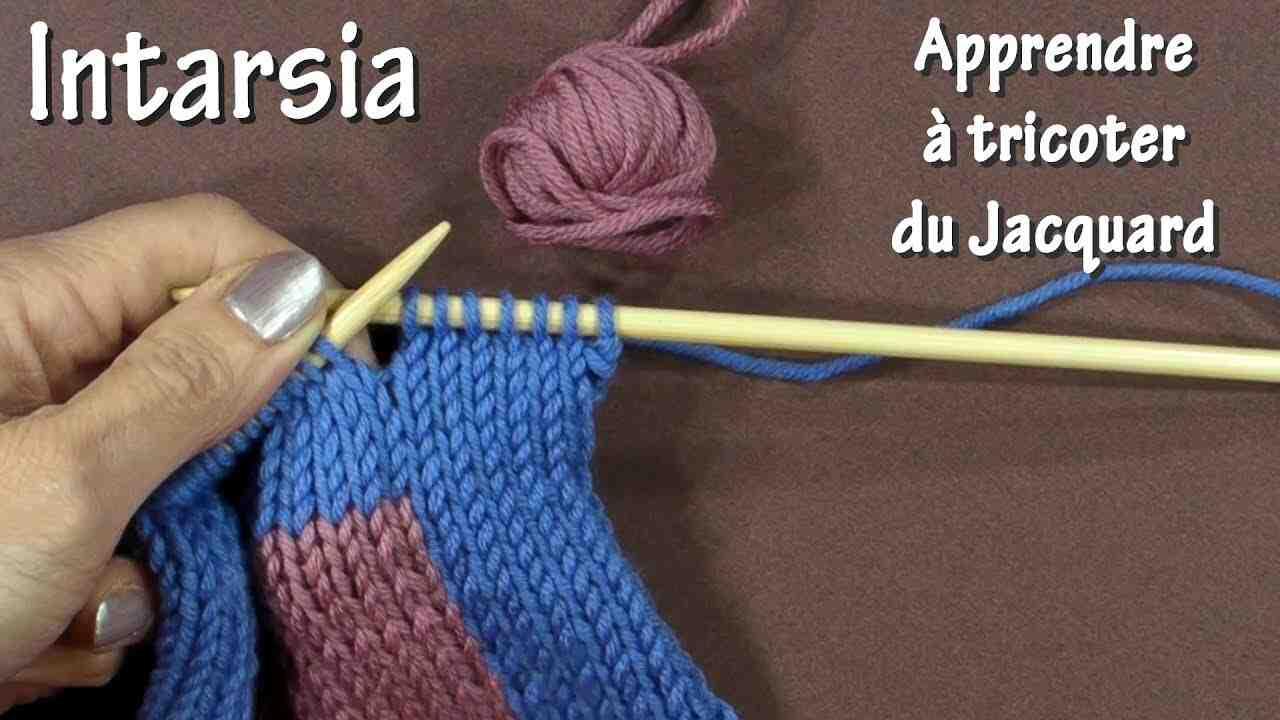 Comment croiser des fils à tricoter jacquard?