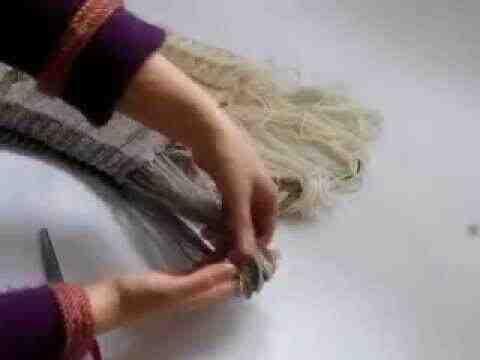 Comment faire les franges d'une écharpe ?