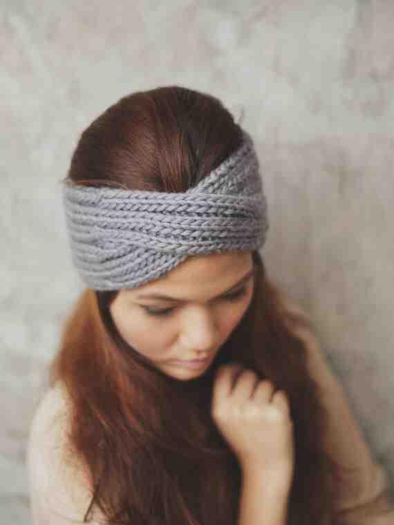 Comment faire un bandeau tricoté?