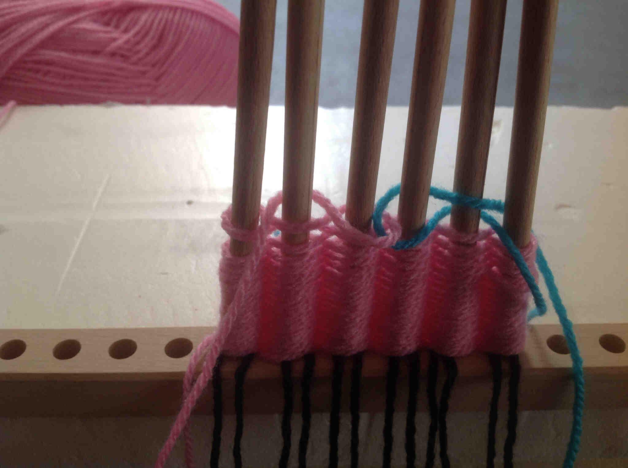 Comment faire un beau jacquard tricoté?