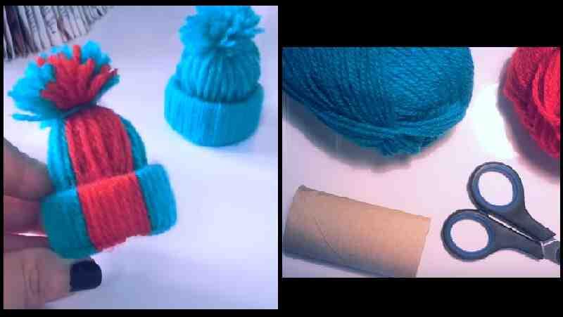 Comment faire un chapeau avec un rouleau de papier toilette?