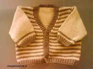 Comment faire un gilet en tricot sans manches?