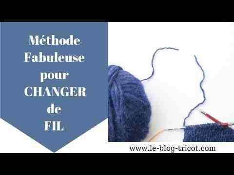 Comment faire un nœud tricoté?