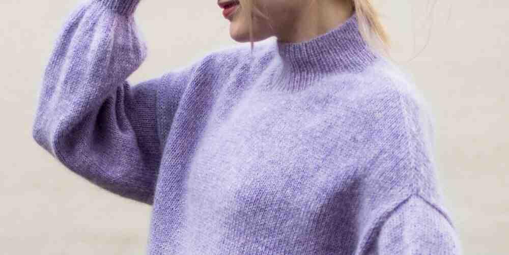 Comment faire un pull sans motif?