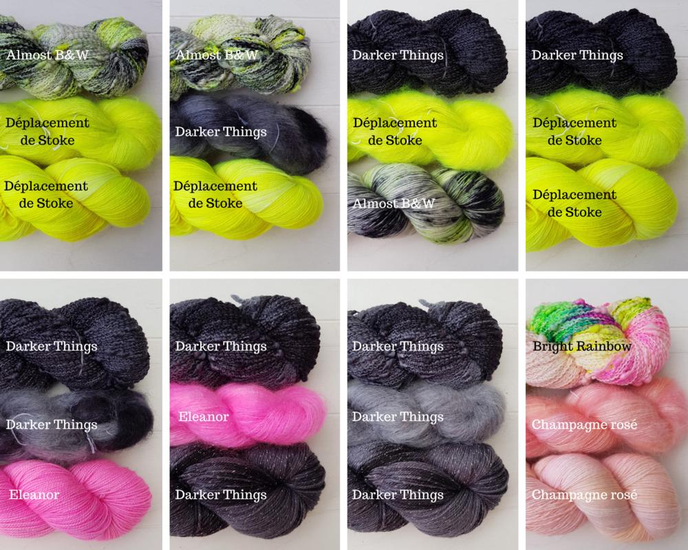 Comment tricoter avec plusieurs couleurs?