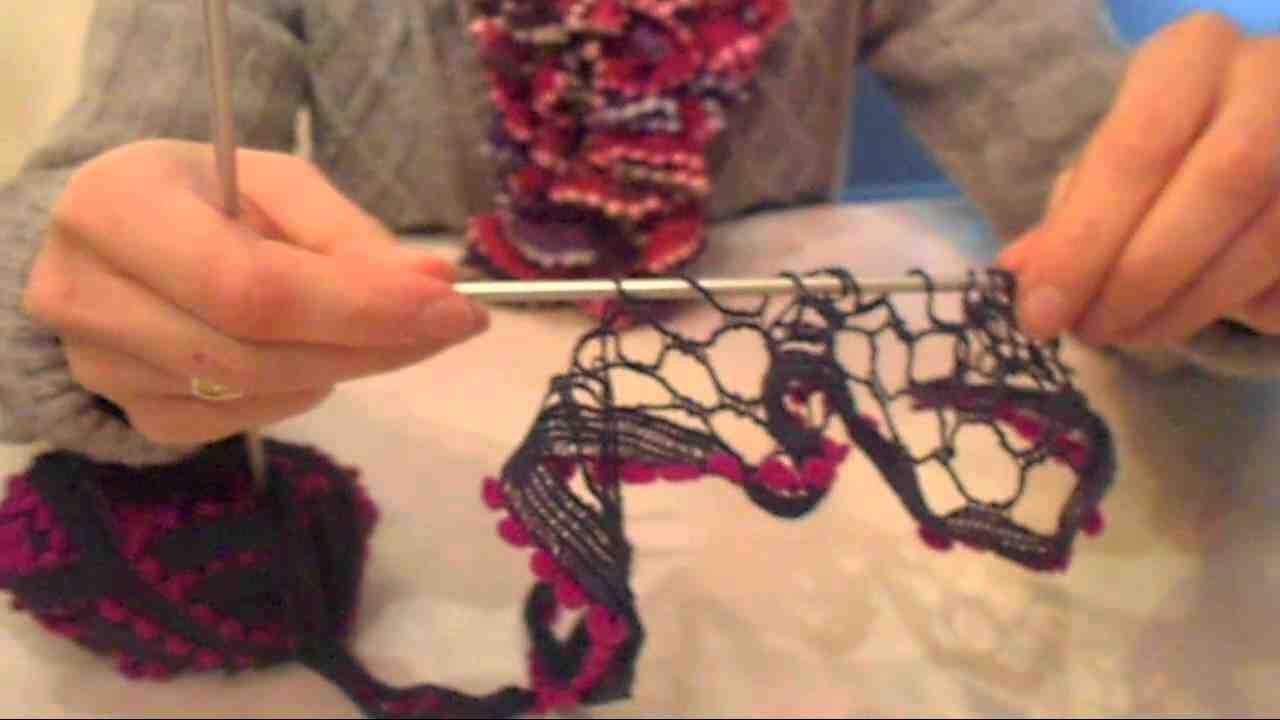 Comment tricoter facilement un mouchoir en laine?