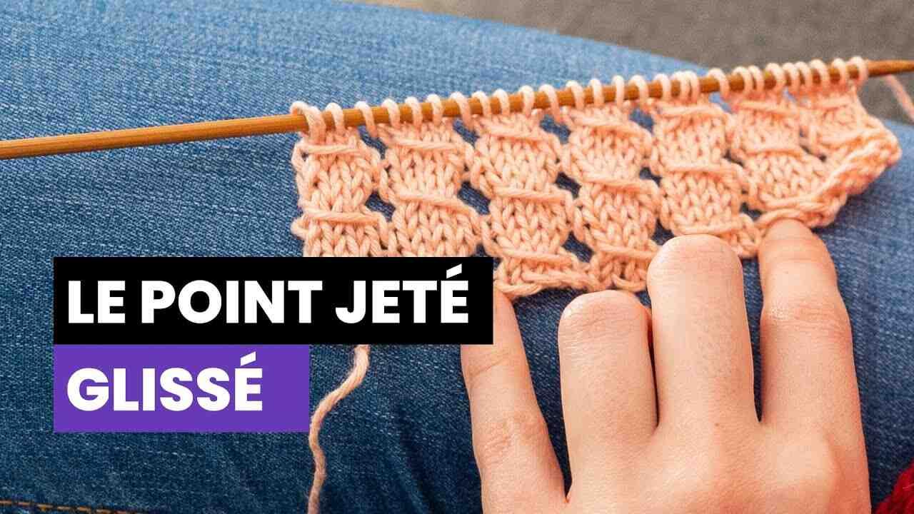 Comment tricoter un point?