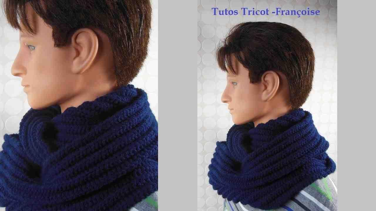 Comment tricoter une belle écharpe d'hiver pour homme?
