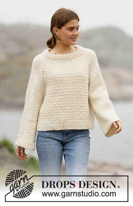 Modele tricot drops