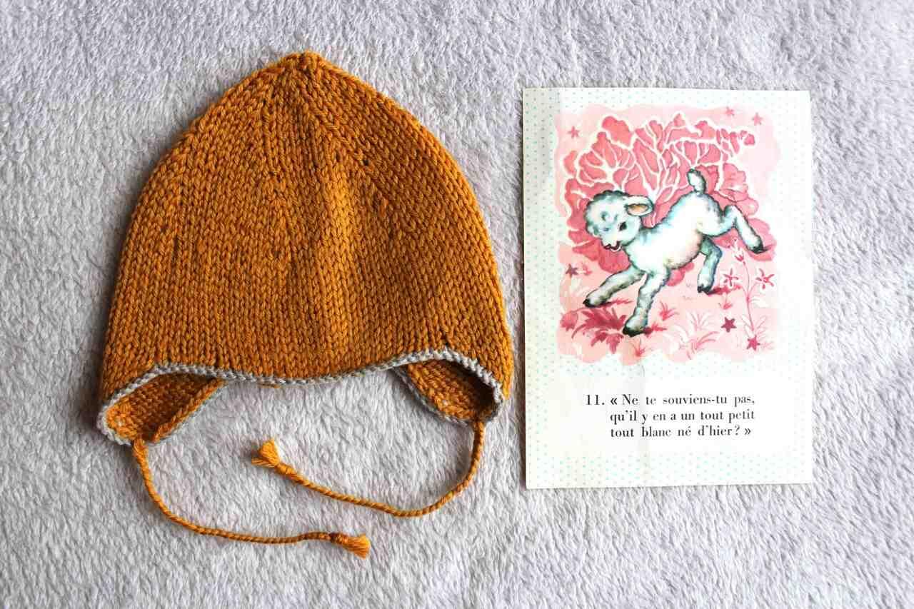 Quelle est la taille du tricot pour le bonnet adulte?