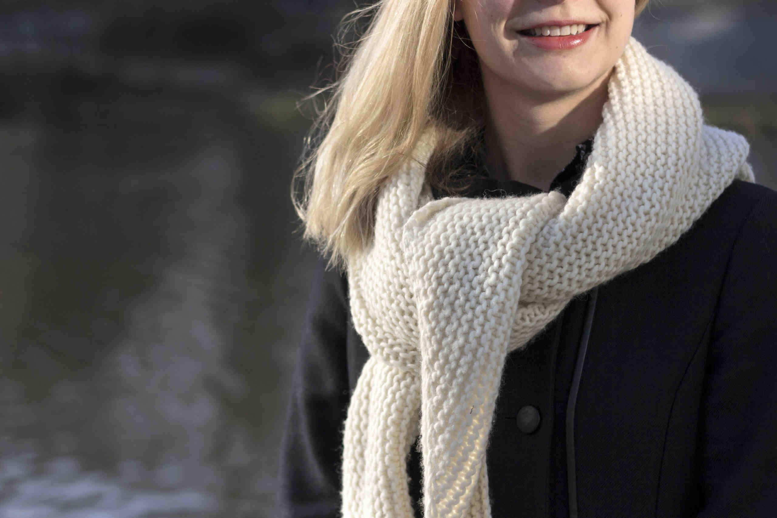 Quelles aiguilles pour tricoter un châle?