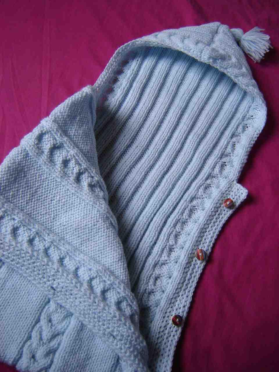 Comment faire un nid d'ange au tricot ?