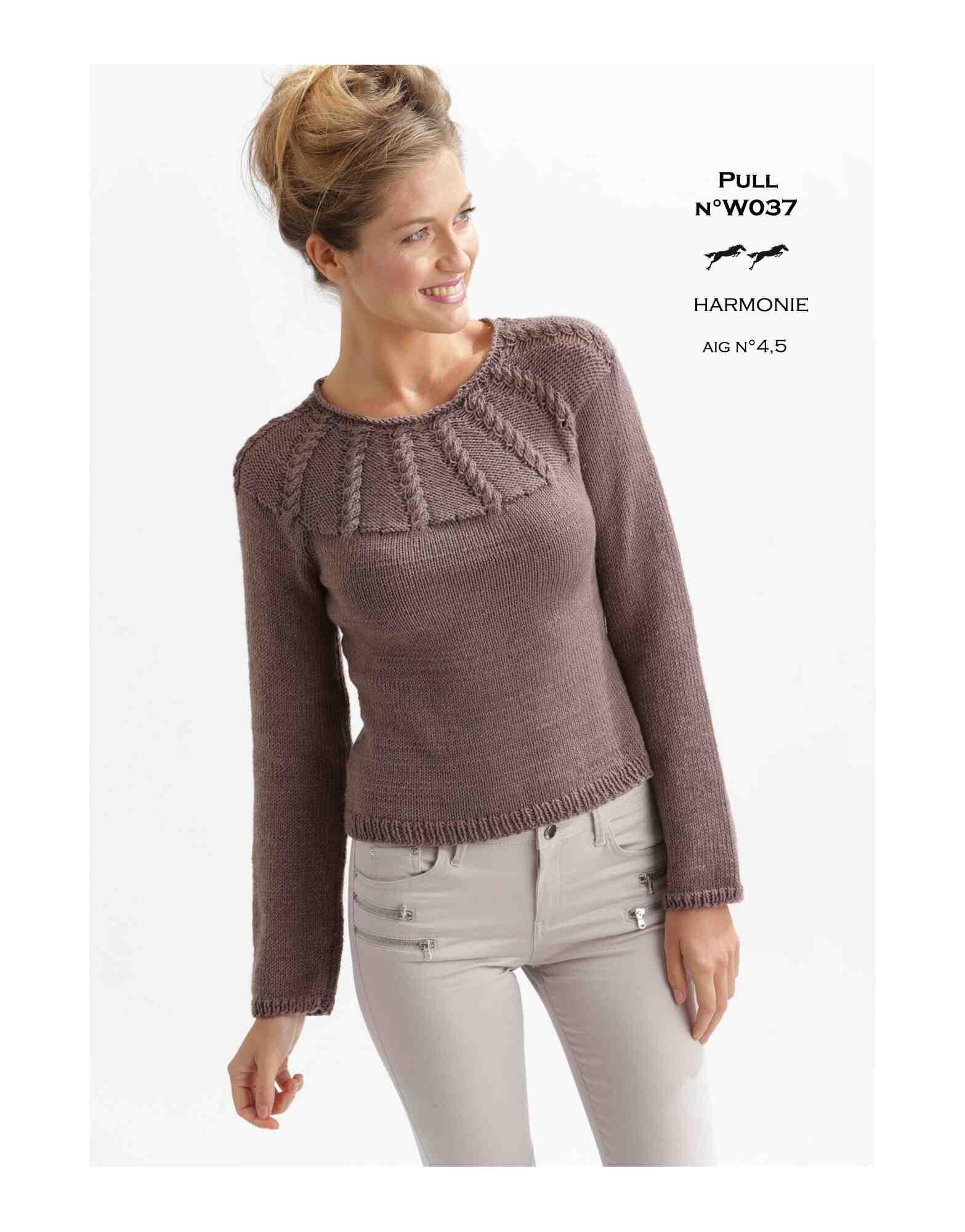 Comment faire un pull sans modèle?