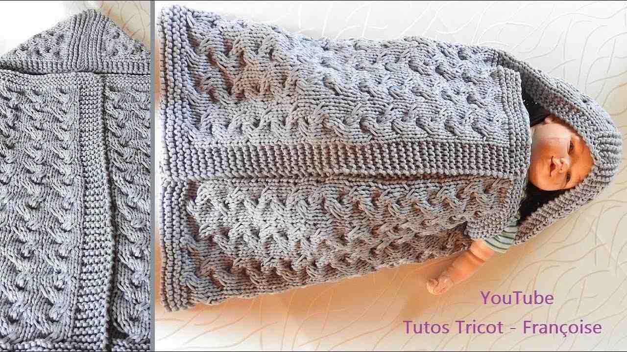 Comment faire un sac de couchage en tricot?