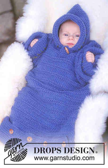 Comment faire un sac de couchage tricoté?