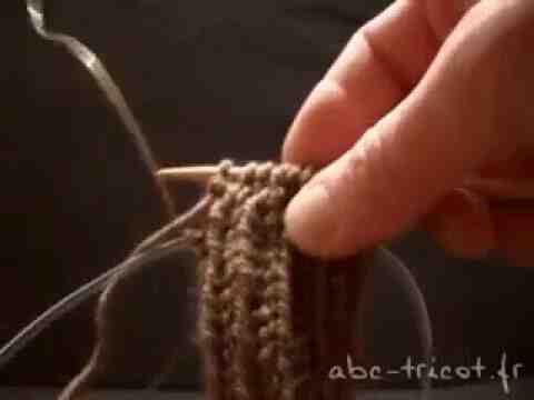 Comment fermer le tricot en tours?