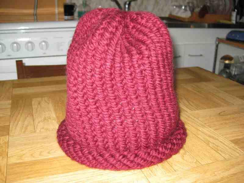Comment lancer avec une aiguille tricotée?