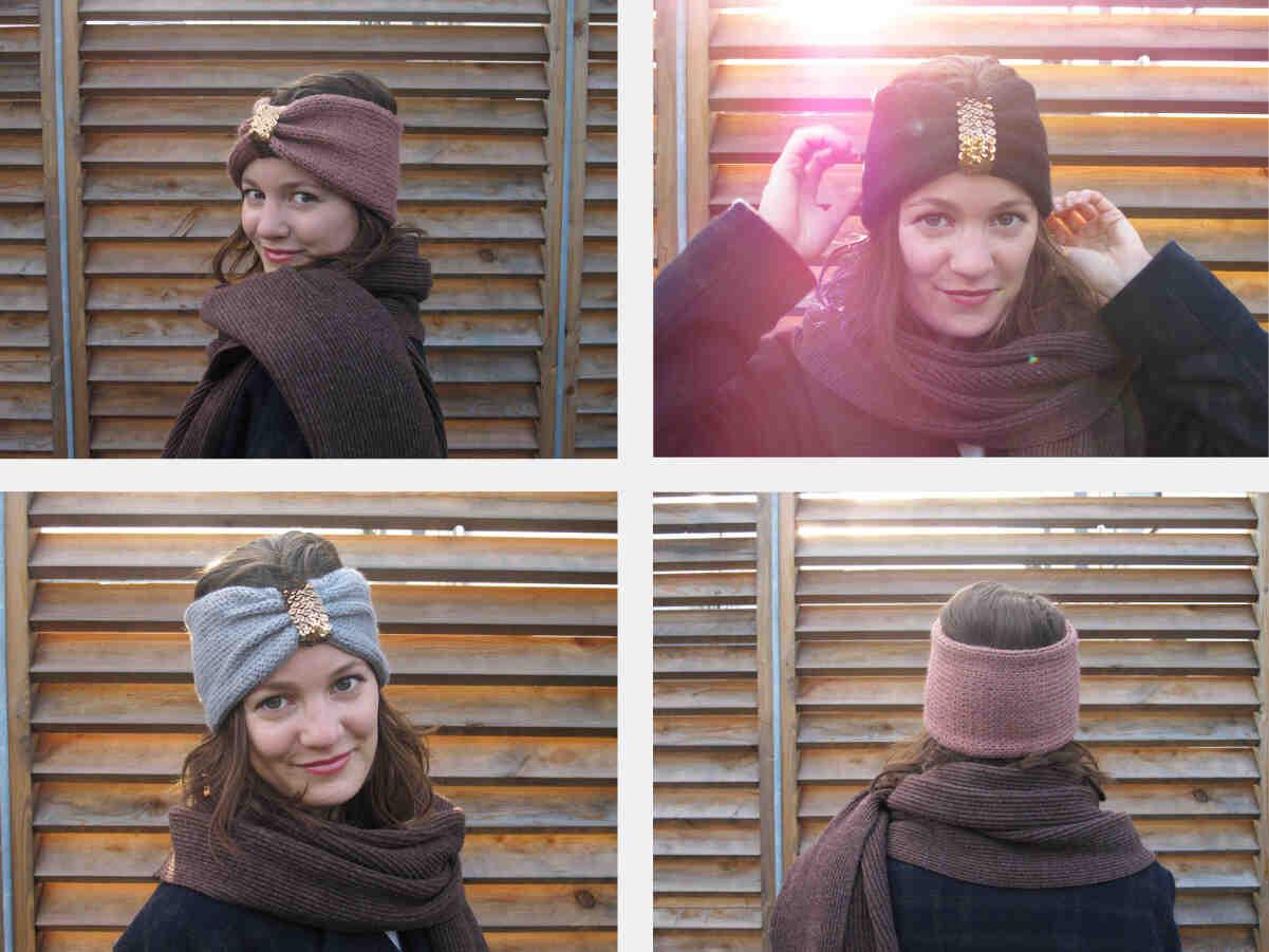 Comment mettre un bandeau en laine ?