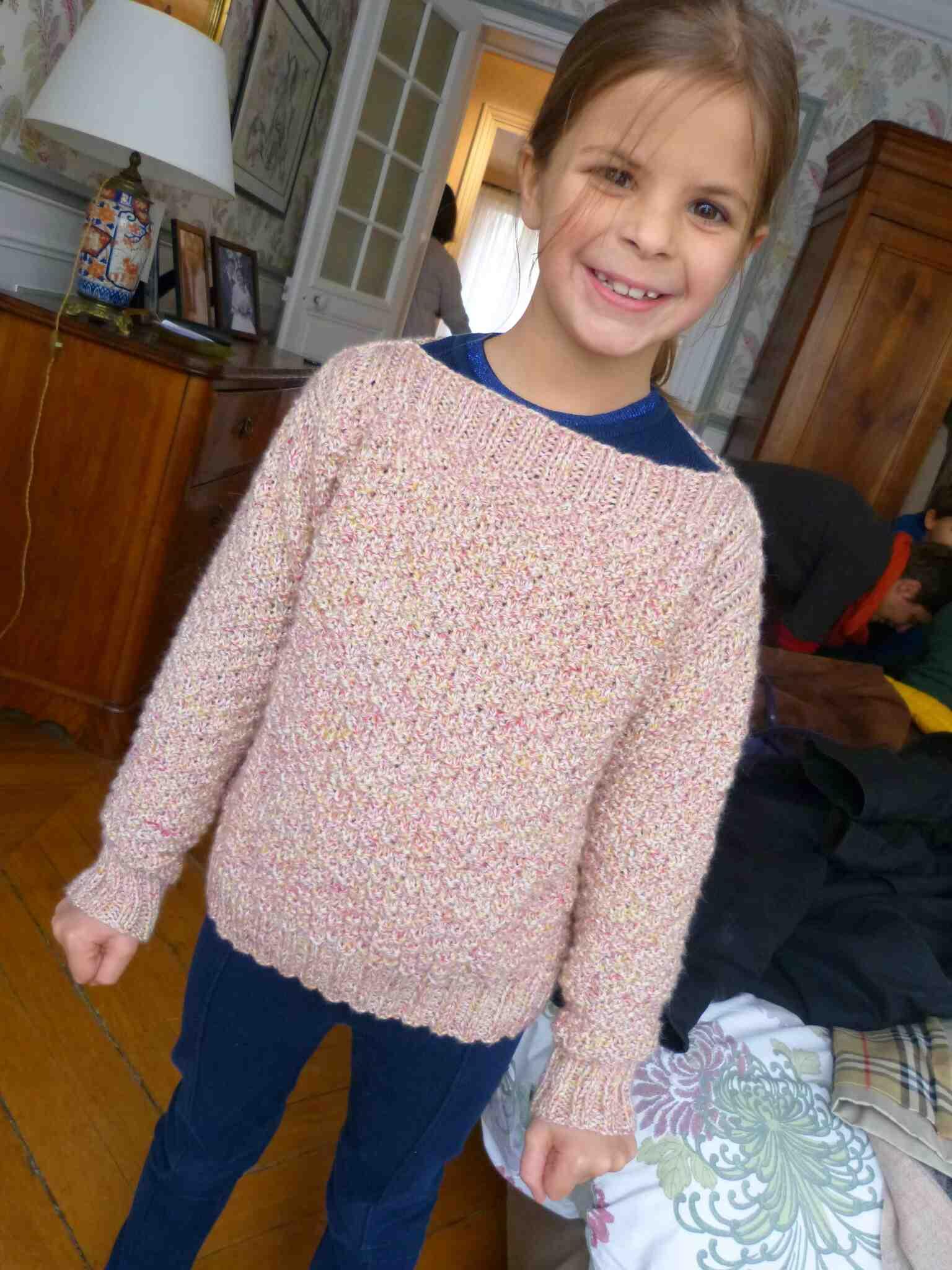 Comment tricoter un pull en premier?