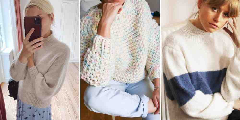 Comment tricoter un pull taille 40?