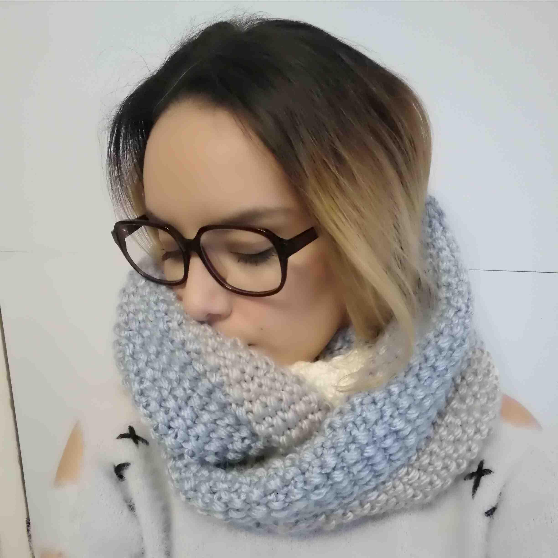 Comment tricoter un snood pour petite fille ?