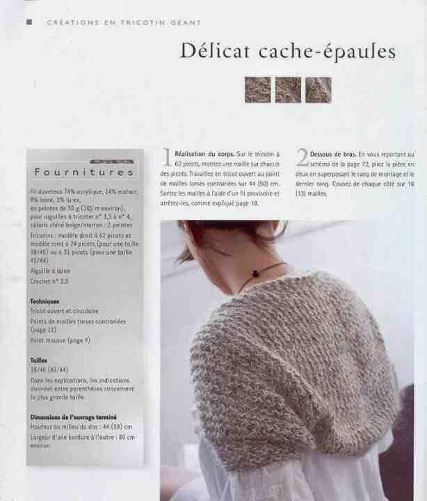 Quelle taille de laine pour la machine à tricoter?